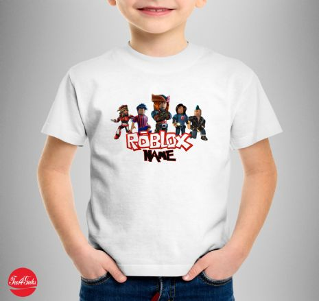 Personalised Roblox Characters T-Shirt